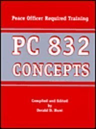 PC 832 Concepts III: Peace Officer Required Training