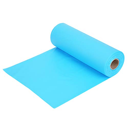 100FT/30M Tablecloths for Rectangle Tables,Tableware Table Cloth Coffee Table Cover Solid Color Plastic Banquet Roll Party Catering for Buffet Table, Parties, Holiday Dinner, Wedding (Sky Blue)