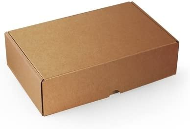 Selfpackaging Caja Rectangular automontable en cartón microcanal ...