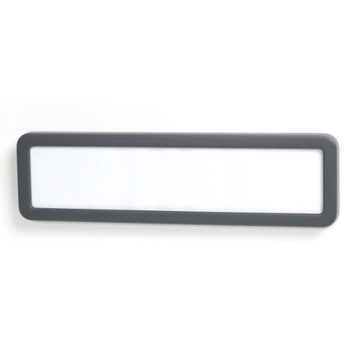 (Officemate Verticalmate Name Plate, Gray (29222) )