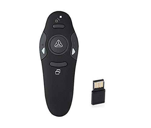 HIGHROCK RF 2.4GHz Wireless USB PowerPoint PPT Presenter Remote Control Pointer Pen ()