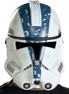 Clonetrooper Costumes (Rubie's Costume Co Clonetrooper Pvc Mask Costume)