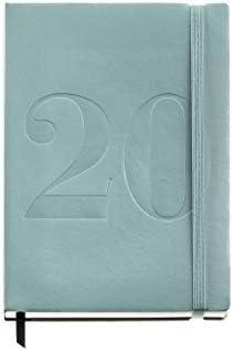 Miquelrius 22048 - Agenda 2020, Semana Vista Vertical (155 x 213 mm), sobremesa, Minimal Verde, Castellano