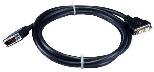 QVS CFDDX-D10 10 ft. Premium DVI Male to Female Digital Flat Panel Extension Cable ()