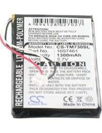 Batería tipo TOM-TOM AHL03714100, 3.7V, 1300mAh, Li-Pol