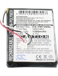 Batteria tipo TOM-TOM AHL03714100, 3.7V, 1300mAh, Li-Pol AboutBatteries 318737
