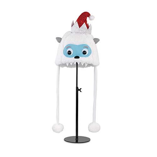 Sledding Santa Stocking - Yeti Santa Hat Child's One Size Polyester Christmas Cold Weather Hat