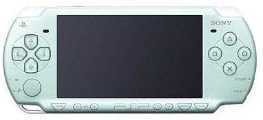Sony Playstation Portable (PSP) 2000 Series Handheld Gaming Console System (Renewed) (Pearl Seafoam Green)