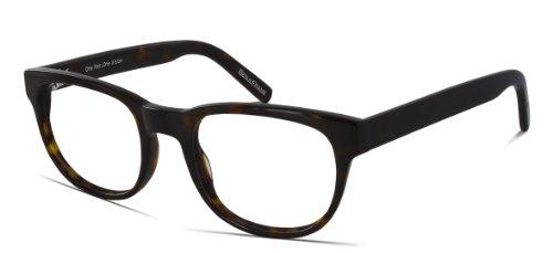 Benji Frank Eisenhower Large Round Eyeglasses Plastic Vintage Retro Classic Style Nerd 70s Specs Eyewear - Style Prescription Glasses 70s