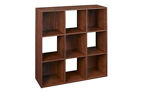 (ClosetMaid 4105 Cubeicals Organizer, 9-Cube, Dark Cherry)