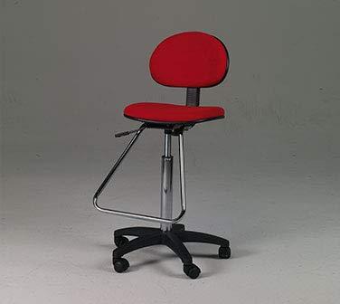 Martin Universal Design Lafayette Drafting Height Seating in Black