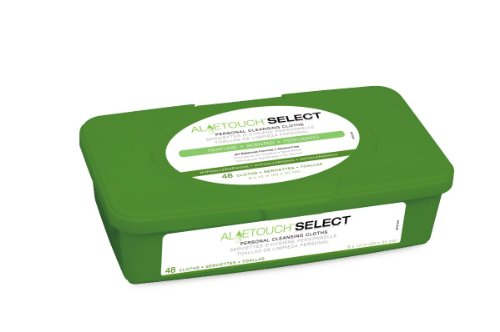 Medline Aloetouch Select Premium Spunlace Personal Cleansing Wipes, 15.2 Ounce ()