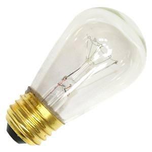 Litetronics 26070 - L-100 11 S14 CL Standard Screw Base Clear Scoreboard Sign Light Bulb
