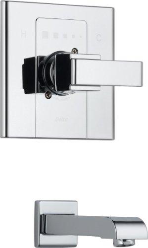 Delta T14186 Arzo Monitor 14 Series Tub Trim Only, Chrome