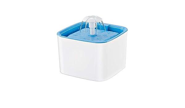 Yissma Fuente de Agua para Gatos, Fuente de Gato Comedor de ...