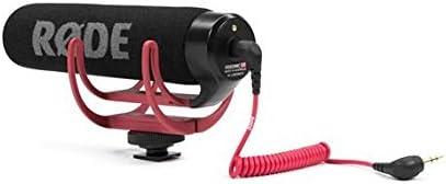 Rode VideoMic Go - Micrófono de condensador para cámara DSLR, color negro