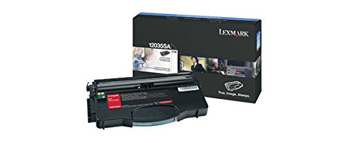 Lexmark 12035SA Black Toner Cartridge for E120 & E120n Printers (Laser E120 Printers)
