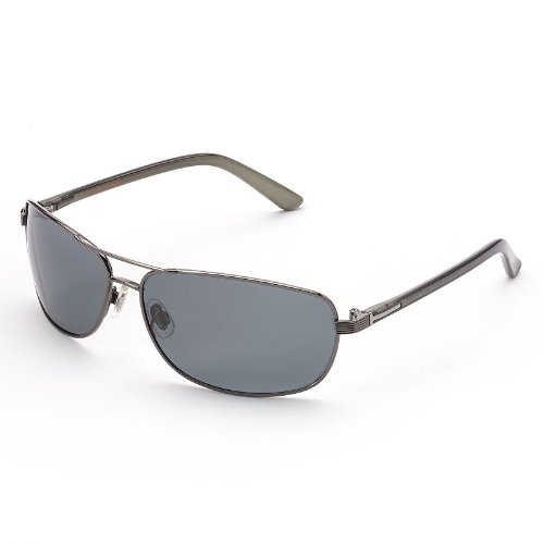 67a21d344c Dockers Polarized Gunmetal Sunglasses for Men  Amazon.in  Clothing    Accessories