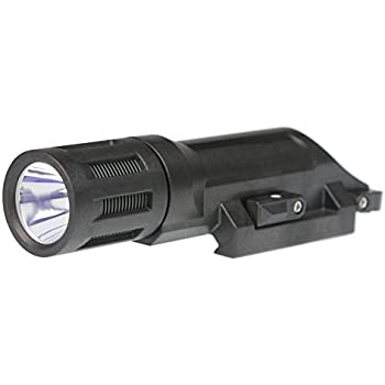 INFORCE WMLX Multifunction White LED 500 lm Weapon Mounted Light, Black Body