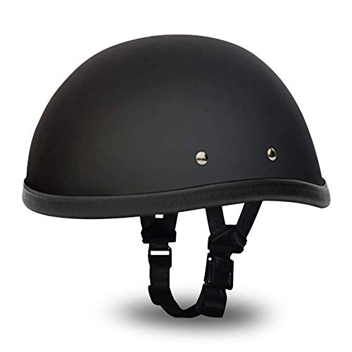 Daytona Novelty Helmet Eagle, Dull Black, Large