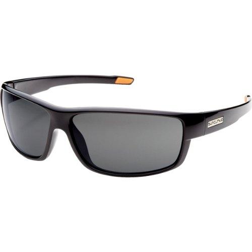 Mens Polarized Lifestyle Eyewear - Suncloud Optics Voucher Injected Frames Polarized Lifestyle Sunglasses/Eyewear - Black/Gray/One Size Fits All