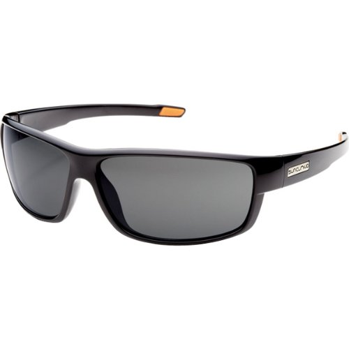 Suncloud Optics Voucher Injected Frames Polarized Lifestyle Sunglasses/Eyewear - Black/Gray / One Size Fits - Suncloud Sunglasses Polarized Voucher