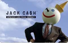 Jack in the Box Blue Sky Jack Ca$h Card