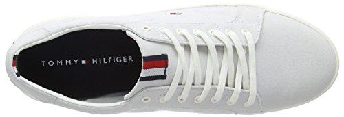 Blue Barely Scarpe Iconic Blu Tommy Hilfiger da Ginnastica 424 Basse Long Sneaker Uomo Lace 7nSxPq