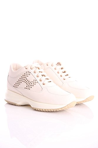 in Hogan Shoes Womens Interactive Leather White xTwtqRTp