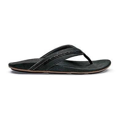Olukai Kakahi - Mens Comfort Sandal Black / Black - 8