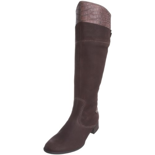 Gabor Wide 35 Boots Moro 567 Leather Leg Brown 16 TqTwv0r