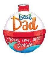 Best Dad Fishing Bobber 18