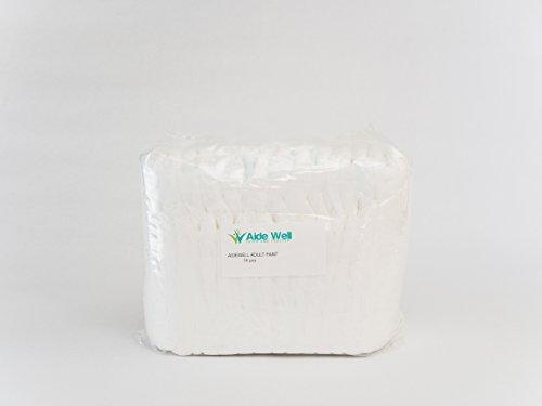 AideWell Premium Adult (Unisex) Disposable Contour Fit Pu...
