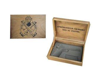 - SPRINGFIELD ARMORY 1911 Single Handgun Wooden Box
