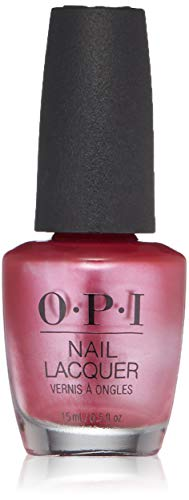 OPI Nail Lacquer, A-Rose at Dawn...Broke by Noon, 0.5 fl. oz. (Pink Nail Polish Opi Case)