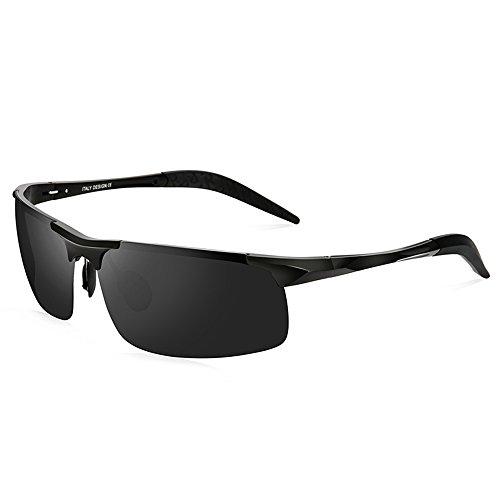 el B solar de Color moda libre ZHIRONG que la alta polarizadas sol Gafas conducen al de de de espejo definición Hombres A aire la protección 0wwgqRTpxB