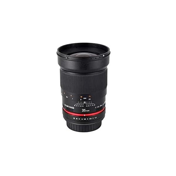 RetinaPix Samyang 35mm F1.4 Prime Lens for Canon DSLR Camera
