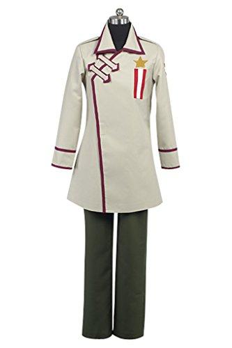 Hetalia Russia Halloween Costume (Expeke Adults Hetalia Cosplay Costume Uniform Suit for Halloween (Men S, Russia)