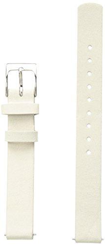 Skagen SKB2042 12mm Leather Calfskin Beige Watch Strap (Skagen Bands Watch Replacement)