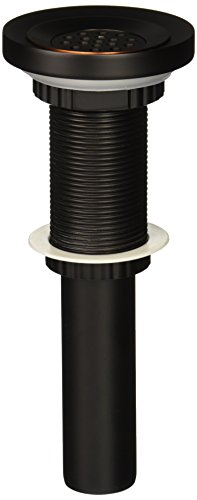 - Kraus PU-12-MR-1ORB Grid Style Drain and Mounting Ring Oil Rubbed Bronze