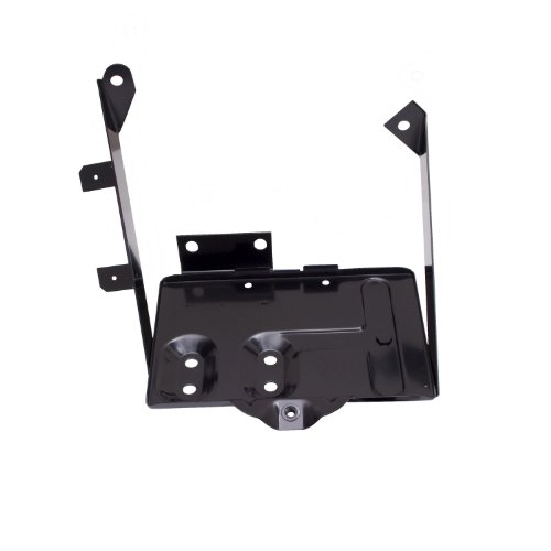 - Rugged Ridge 11214.01 Black Battery Tray