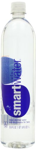 Glaceau Smart Water, 33.8-Ounce (Pack of 12)