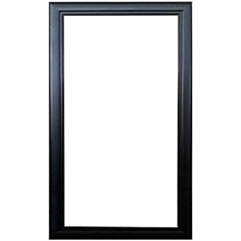 12x24 black wood picture poster frame 12 x 24. Black Bedroom Furniture Sets. Home Design Ideas