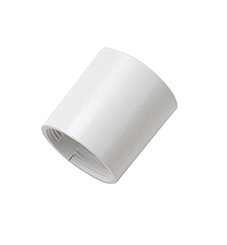 Bulk Hardware BH05893 Long Lamp Holder Spare Skirt, 36mm (1.7/16 inch) White - Pack of 2 Bulk Hardware Limited