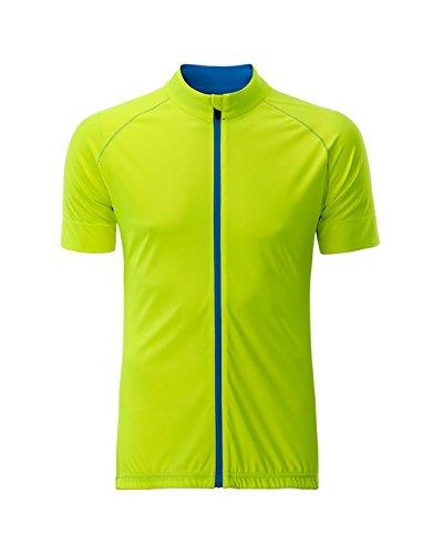 Jersey ciclismo azul Amarillo hombre cremallera jersey brillante para 2store24 brillante de en con Total 45rwq4x7