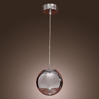 LightInTheBox 60W Pendant Light in Globe Metal Shape Ceiling Light Fixture for Kitchen, Dining Room