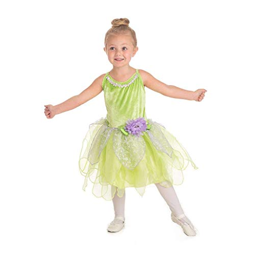 Little Adventures Tinkerbell Fairy Dress Up Costume (Large Age 5-7)