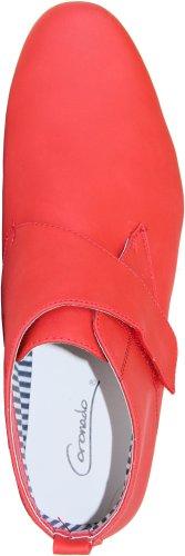 Coronado Menns Uformelle Støvler Cody-7 Komfort Myke Ørken Støvler Med En Mandel Tå Og Justerbar Munk Tropp Rød 9m
