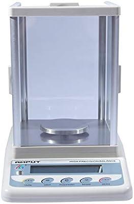 LYC Alta Precisión 0.001g Balanza Electrónica Laboratorio Balance con Pantalla LCD Y Parabrisas para Oro Joya Peso (Size : 100g/0.001g): Amazon.es
