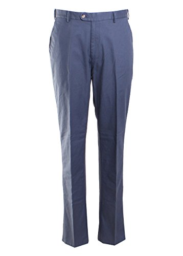 PETER MILLAR Soft Touch Twill Trouser 34 Navy (Cotton Twill Trouser)